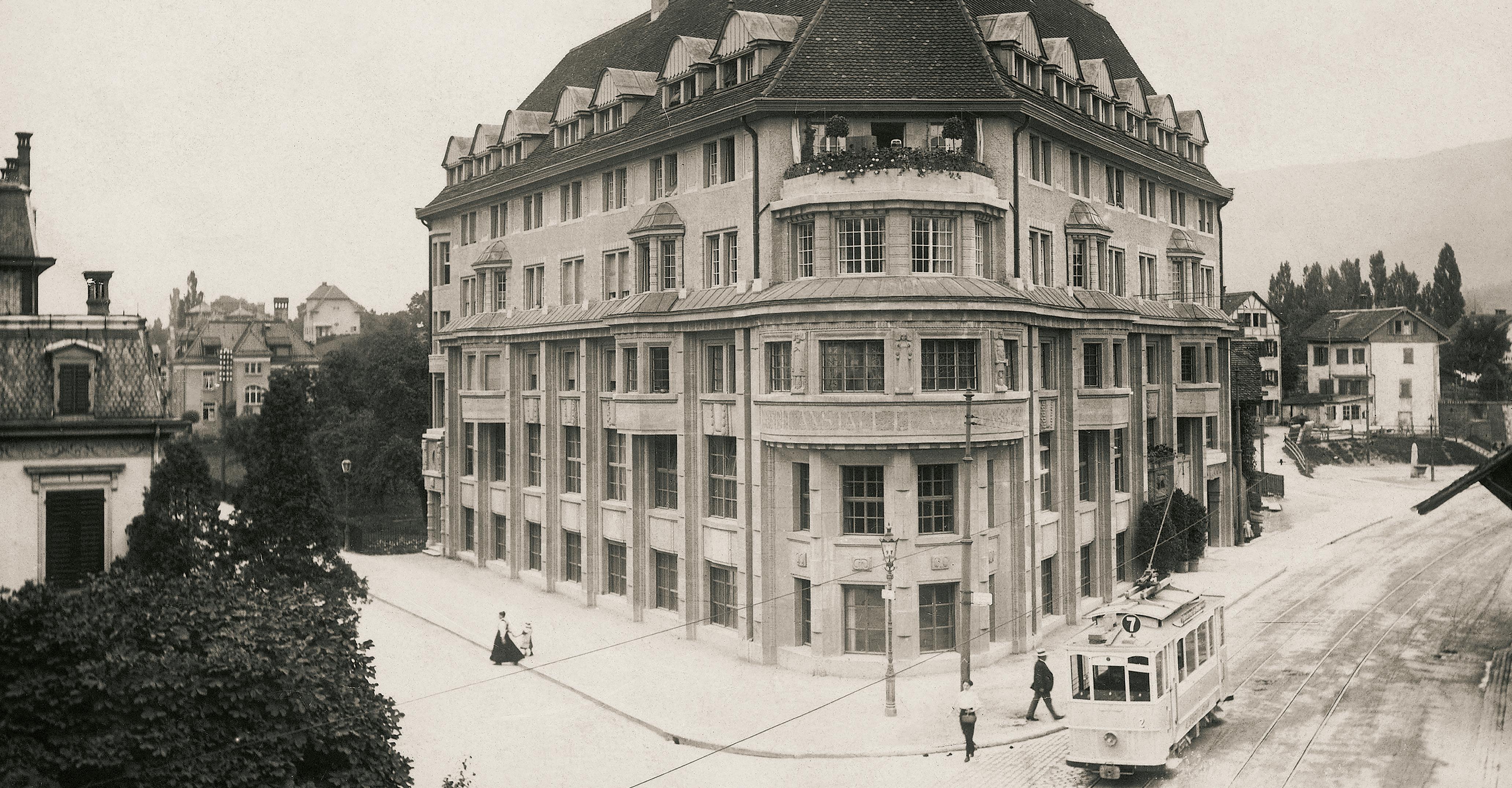 Am Standort Bederstrasse, Zürich-Enge